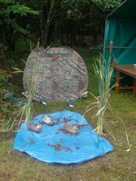 Salon de la chasse à  Plumelec.