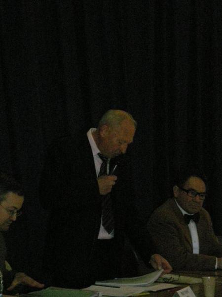 Notre Président et Raymond Marie